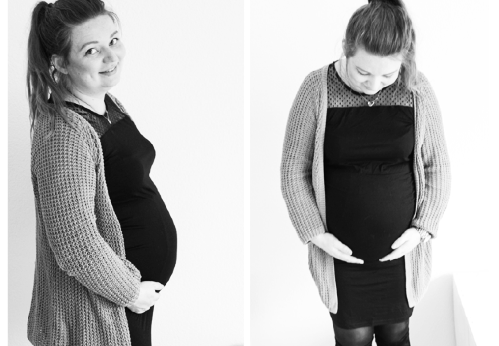 schamen voor een zwanger lichaam