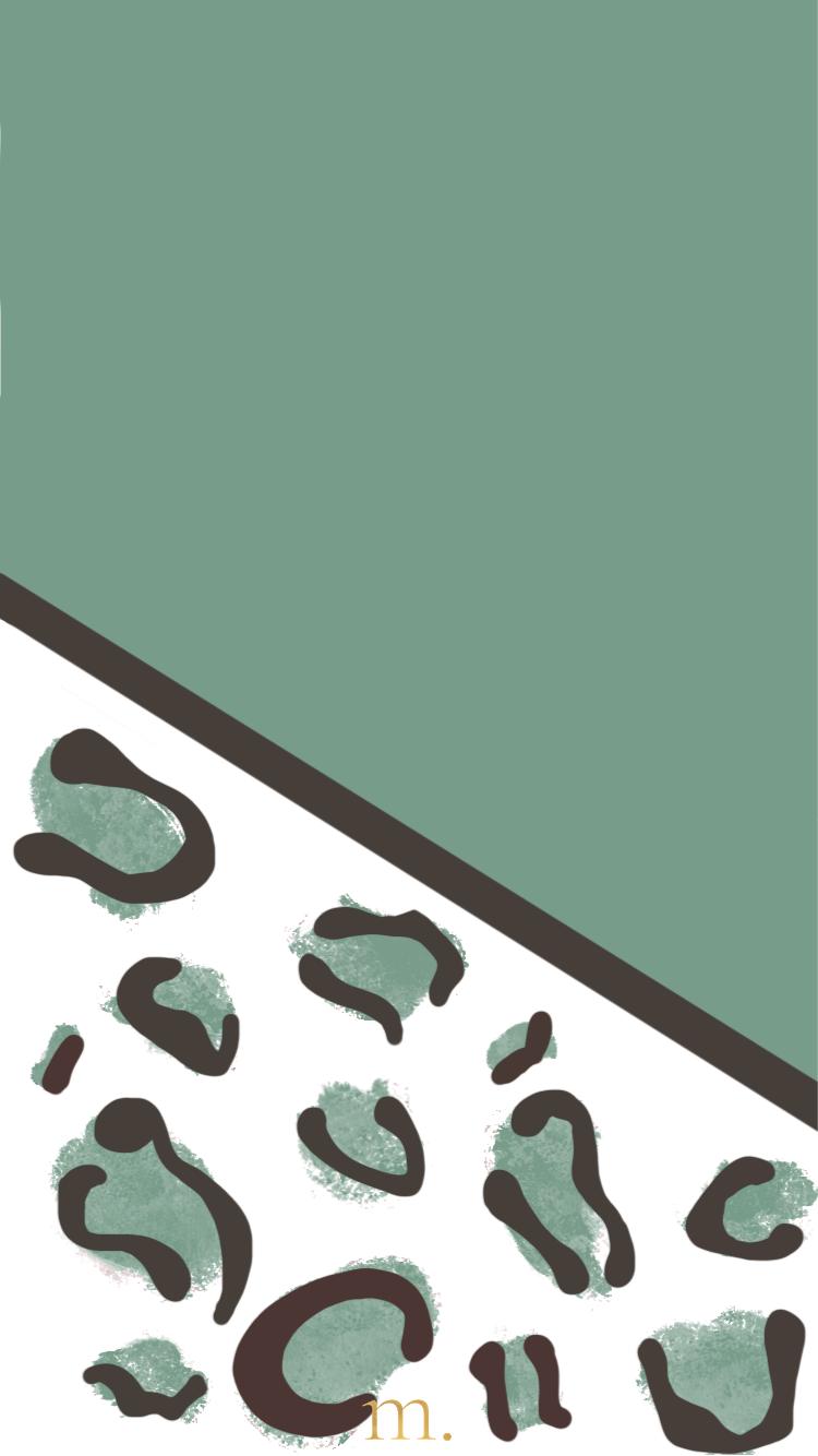 Achtergrond panterprint
