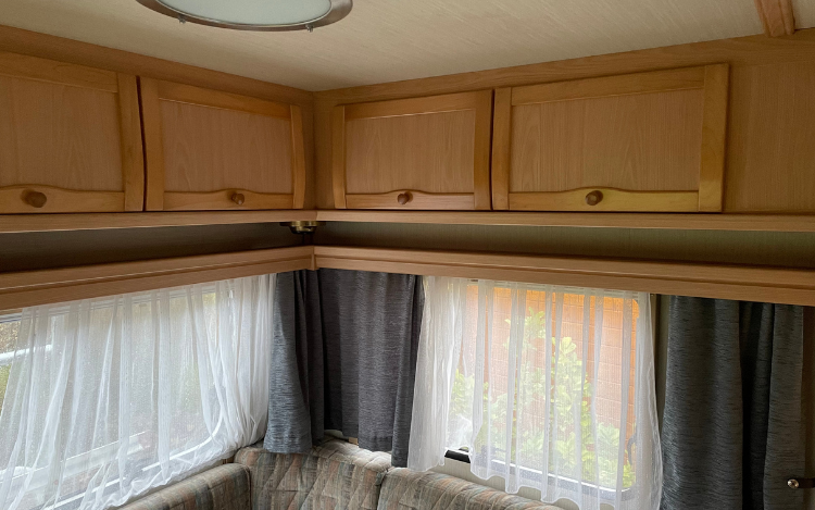 Caravan make-over moodboard